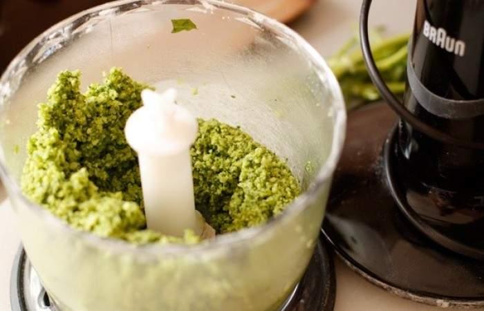 Рецепт Тарталетки с соусом песто и креветками шаг-5