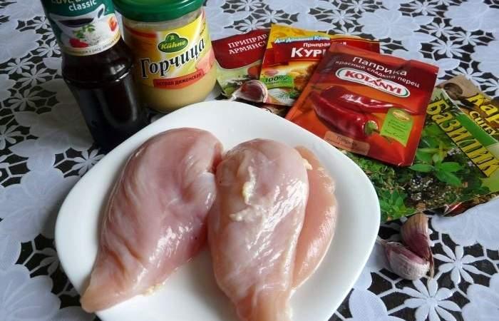Рецепт Вкусная пастрома из куриного филе шаг-1