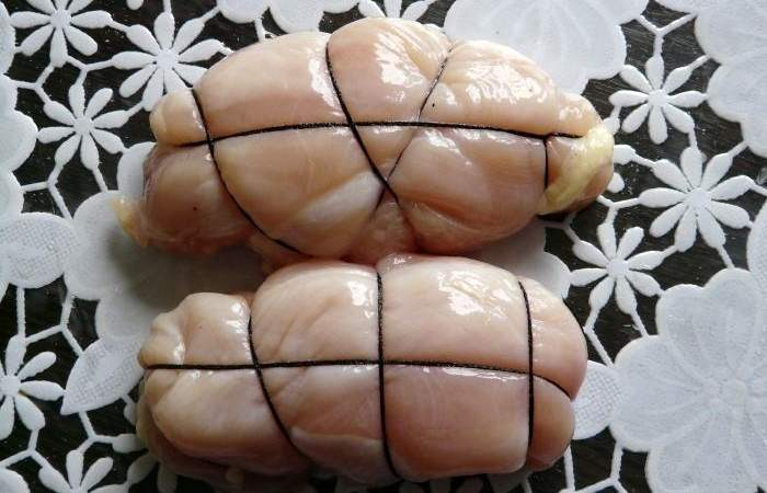Рецепт Вкусная пастрома из куриного филе  шаг-4
