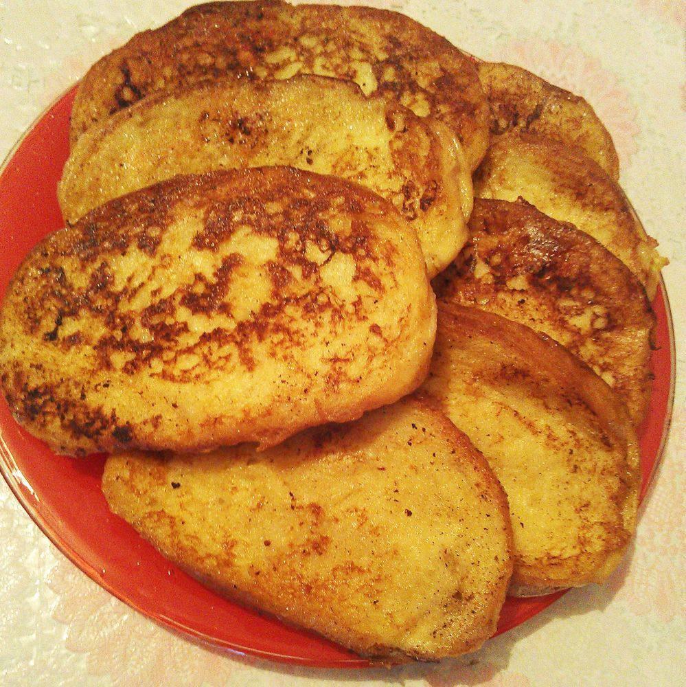 Хлеб с чесноком на сковороде рецепт