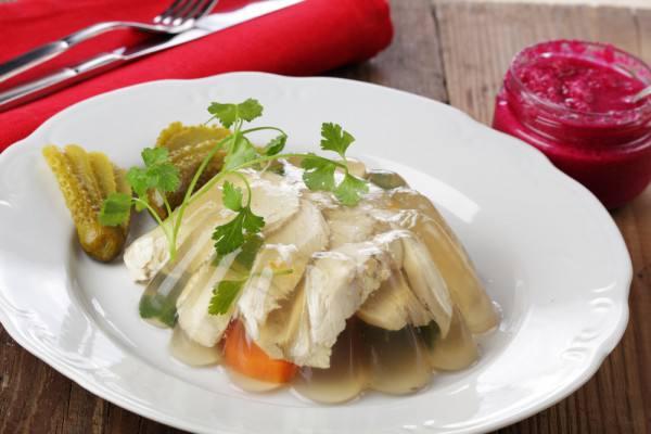 Готовим Праздники Пасхальные рецепты: Куриный холодец