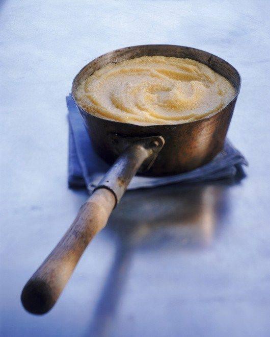 Пюре из пастернака с трюфельным маслом