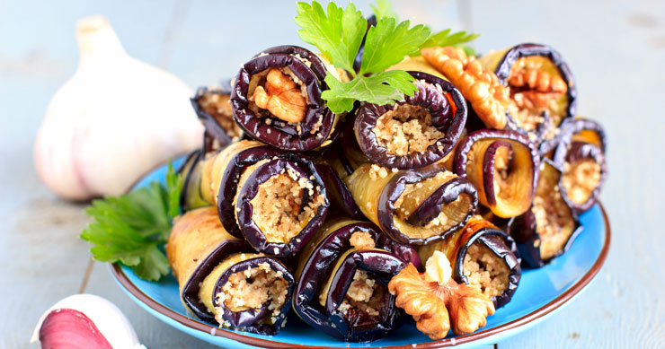 Блюда с баклажанами