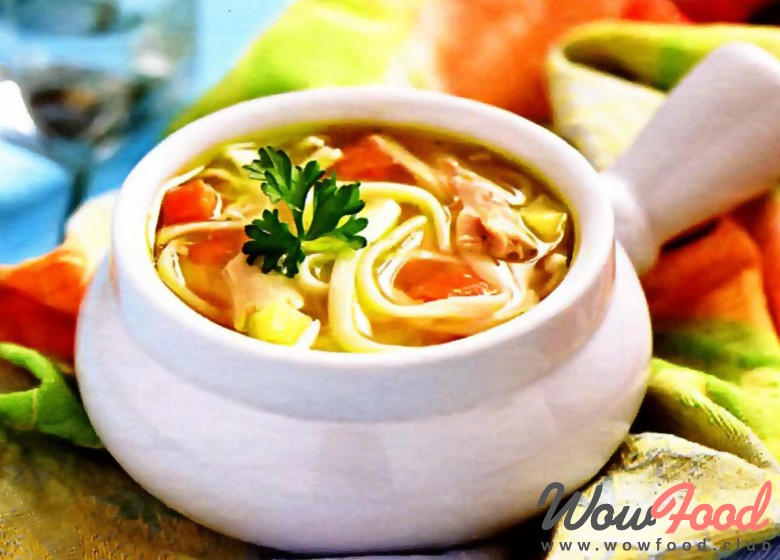куриный суп с яичными блинчиками рецепт с фото