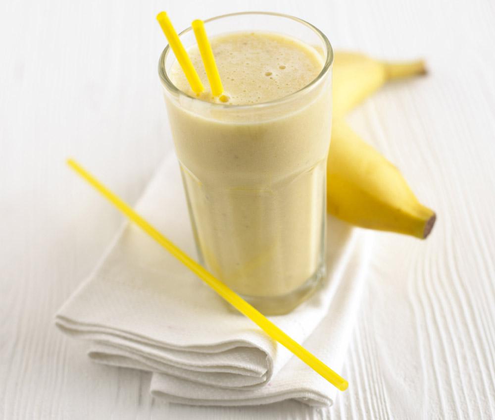 На бананах
