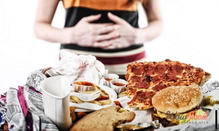 Плохие привычки после еды