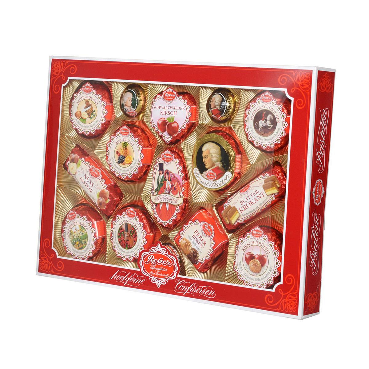 Reber Mozart подарочный набор шоколадных конфет