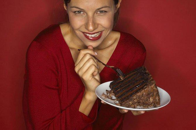 Шоколадно-сладкая зависимость