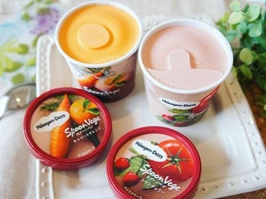 Овощное мороженое