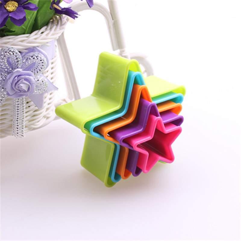 Набор пластиковых форм для выпечки печенья