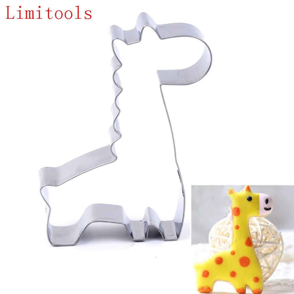 Металлическая форма для выпечки Жираф