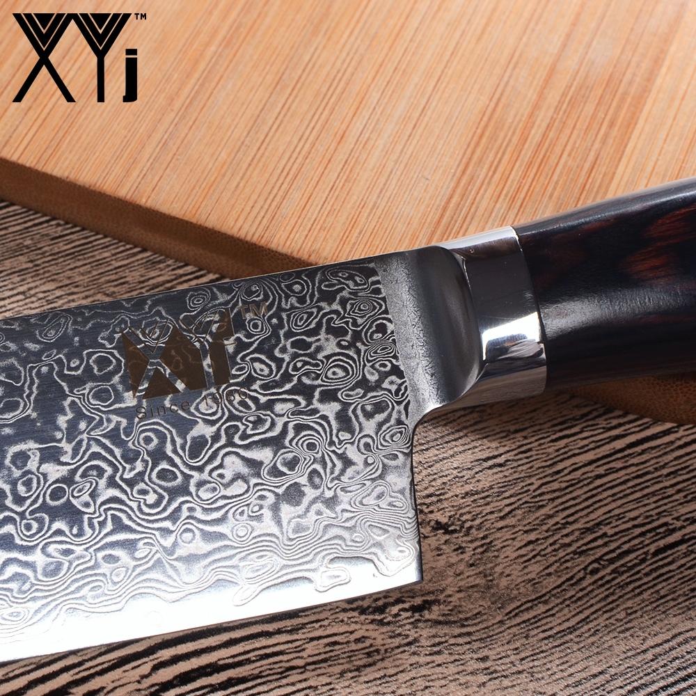 Набор ножей из дамаской стали