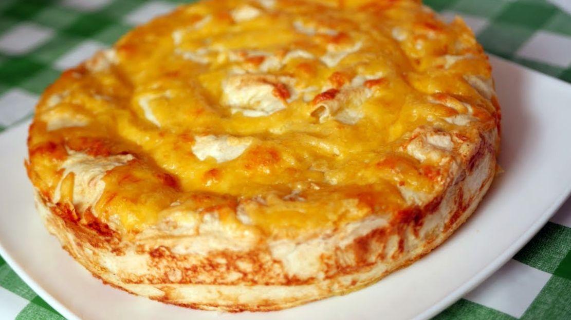 Рецепт пирога на майонезе